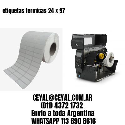 etiquetas termicas 24 x 97