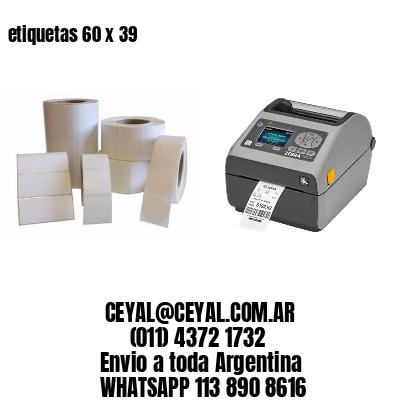 etiquetas 60 x 39