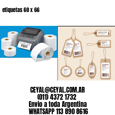 etiquetas 60 x 66