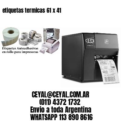 etiquetas termicas 61 x 41