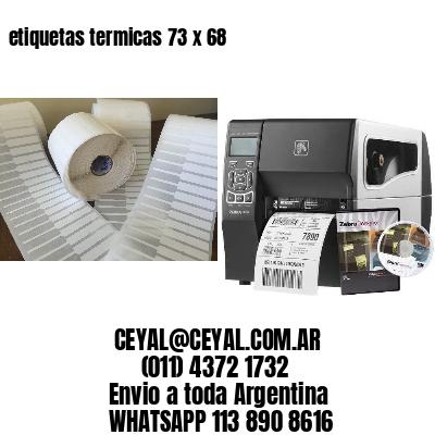 etiquetas termicas 73 x 68
