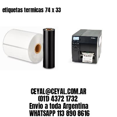 etiquetas termicas 74 x 33