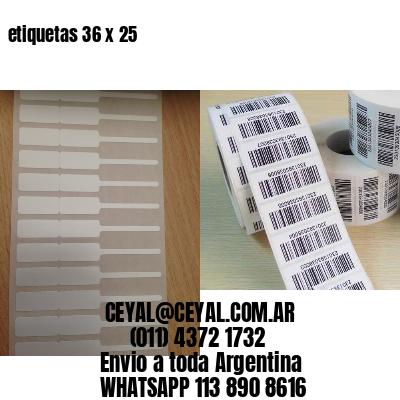 etiquetas 36 x 25