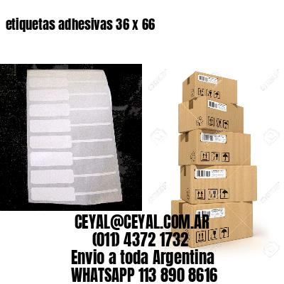 etiquetas adhesivas 36 x 66