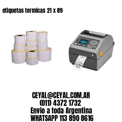 etiquetas termicas 21 x 89