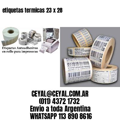 etiquetas termicas 23 x 28