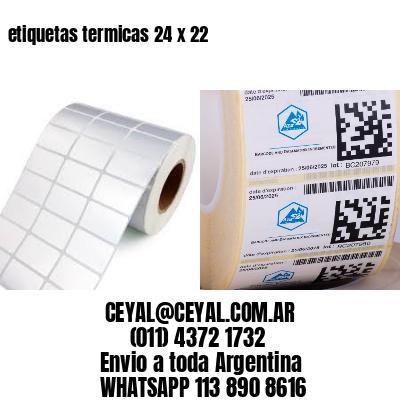 etiquetas termicas 24 x 22