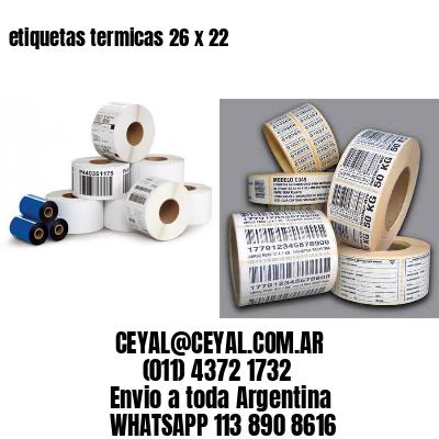 etiquetas termicas 26 x 22
