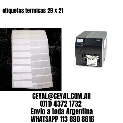 etiquetas termicas 29 x 21