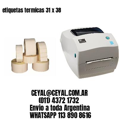 etiquetas termicas 31 x 38