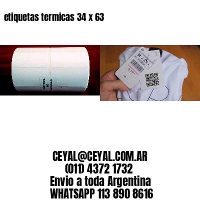 etiquetas termicas 34 x 63