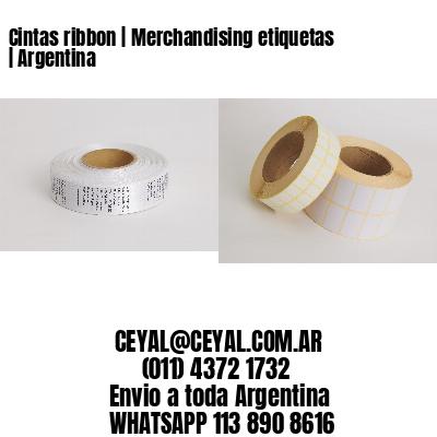 Cintas ribbon   Merchandising etiquetas   Argentina