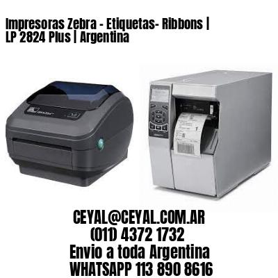 Impresoras Zebra - Etiquetas- Ribbons | LP 2824 Plus | Argentina
