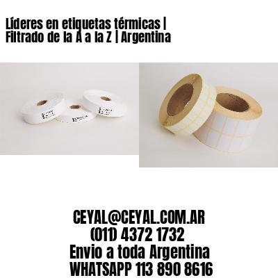 Líderes en etiquetas térmicas   Filtrado de la A a la Z   Argentina