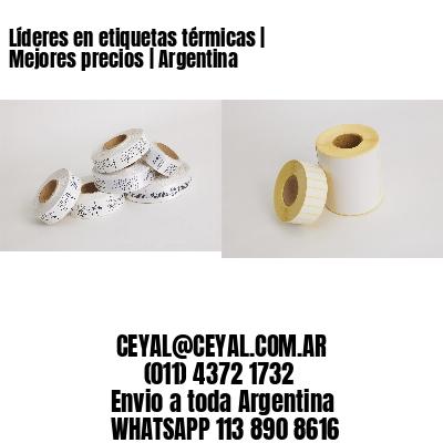 Líderes en etiquetas térmicas   Mejores precios   Argentina