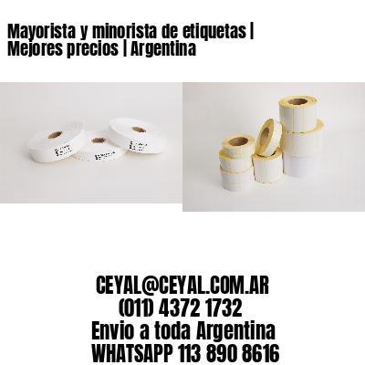 Mayorista y minorista de etiquetas   Mejores precios   Argentina
