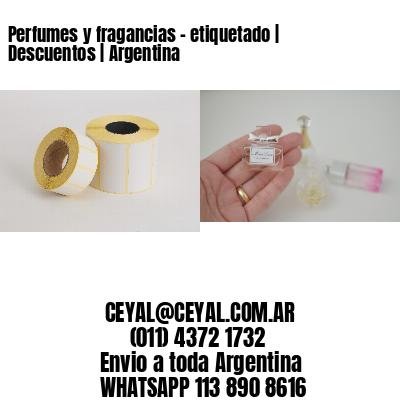 Perfumes y fragancias - etiquetado | Descuentos | Argentina