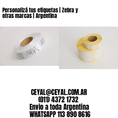 Personalizá tus etiquetas   Zebra y otras marcas   Argentina