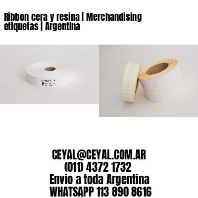 Ribbon cera y resina   Merchandising etiquetas   Argentina