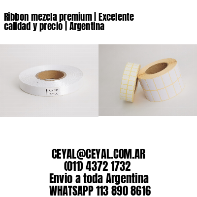 Ribbon mezcla premium | Excelente calidad y precio | Argentina
