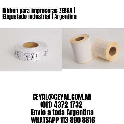 Ribbon para impresoras ZEBRA | Etiquetado industrial | Argentina