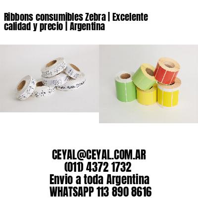 Ribbons consumibles Zebra | Excelente calidad y precio | Argentina