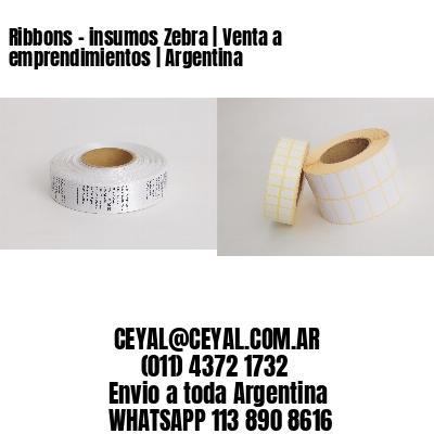 Ribbons - insumos Zebra | Venta a emprendimientos | Argentina