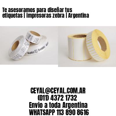 Te asesoramos para diseñar tus etiquetas   impresoras zebra   Argentina