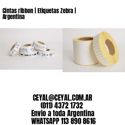 Cintas ribbon   Etiquetas Zebra   Argentina