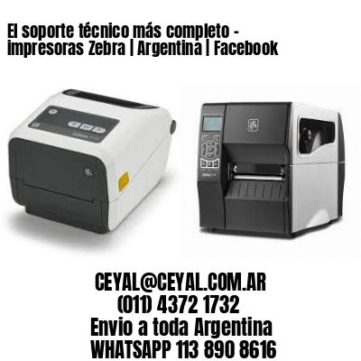 El soporte técnico más completo - impresoras Zebra   Argentina   Facebook
