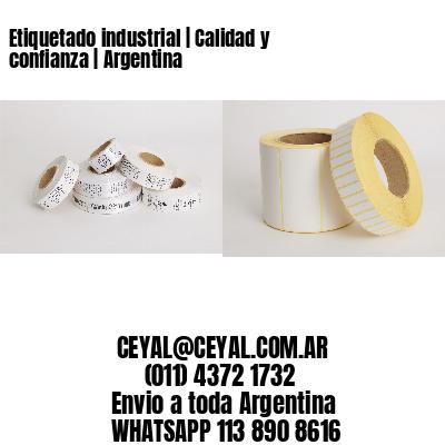 Etiquetado industrial   Calidad y confianza   Argentina