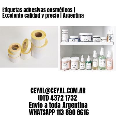 Etiquetas adhesivas cosméticos   Excelente calidad y precio   Argentina