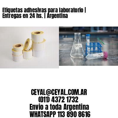 Etiquetas adhesivas para laboratorio   Entregas en 24 hs.   Argentina