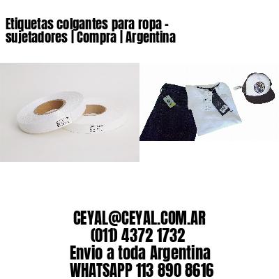 Etiquetas colgantes para ropa - sujetadores   Compra   Argentina