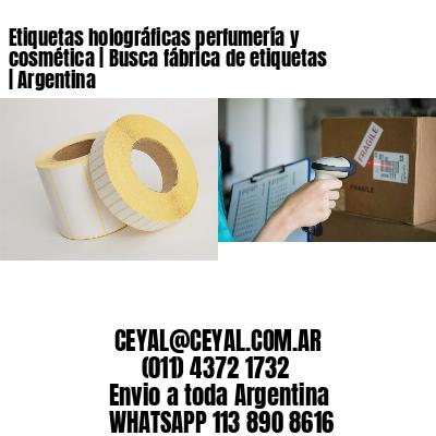 Etiquetas holográficas perfumería y cosmética   Busca fábrica de etiquetas   Argentina