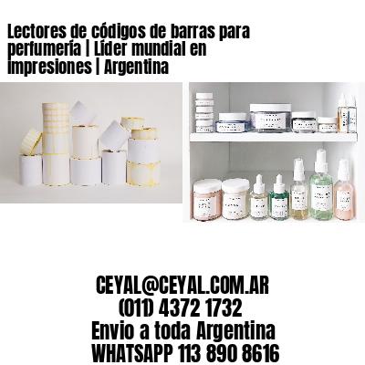 Lectores de códigos de barras para perfumería | Líder mundial en impresiones | Argentina