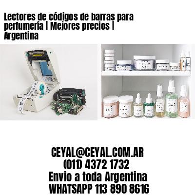 Lectores de códigos de barras para perfumería   Mejores precios   Argentina