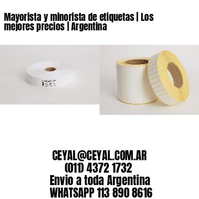 Mayorista y minorista de etiquetas   Los mejores precios   Argentina