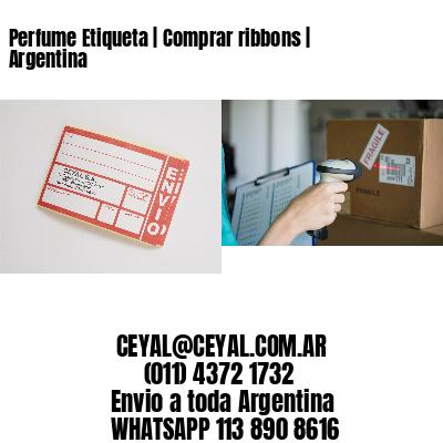 Perfume Etiqueta | Comprar ribbons | Argentina