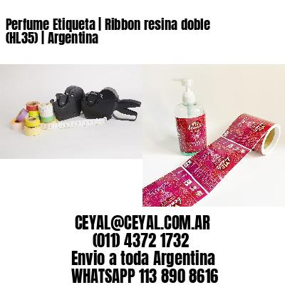 Perfume Etiqueta | Ribbon resina doble (HL35) | Argentina
