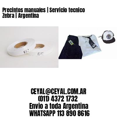 Precintos manuales | Servicio tecnico Zebra | Argentina