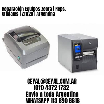 Reparación Equipos Zebra   Reps. Oficiales   ZT620   Argentina