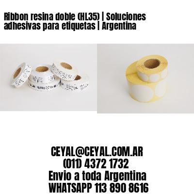 Ribbon resina doble (HL35)   Soluciones adhesivas para etiquetas   Argentina