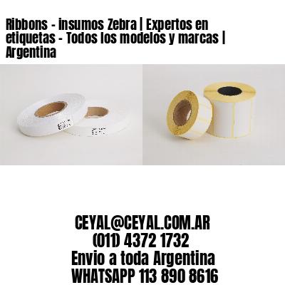 Ribbons - insumos Zebra   Expertos en etiquetas - Todos los modelos y marcas   Argentina