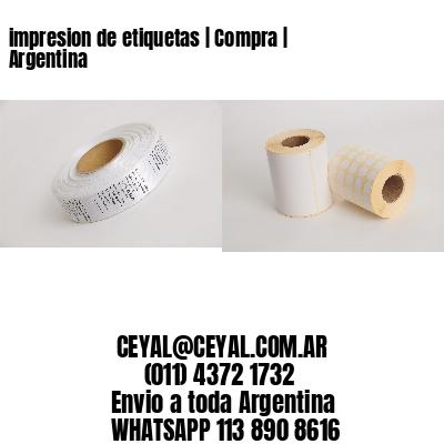 impresion de etiquetas   Compra   Argentina