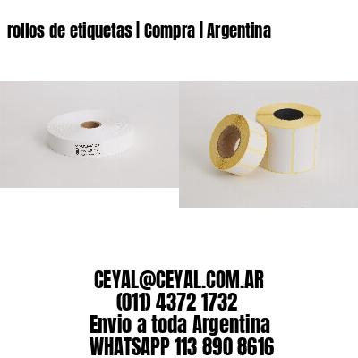 rollos de etiquetas | Compra | Argentina